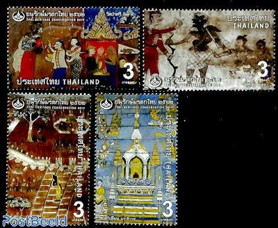 Thai Heritage Conservation 4v