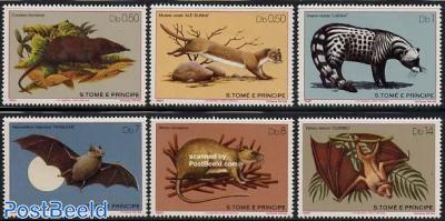 Mammals 6v