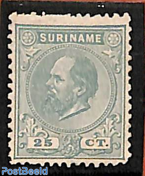25c, Greenblue, Perf. 12.5:12, Stamp out of set