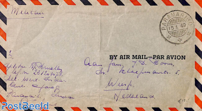 Military mail, Airmail to Holland