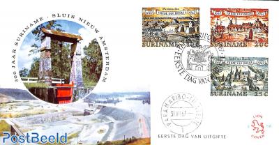 Breda treaty 3v, FDC without address