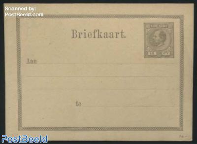 Postcard 15c grey