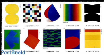 Elsworth Kelly 10v s-a