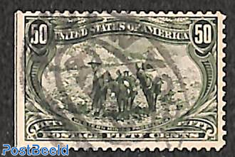 50c, used, Stamp out of set