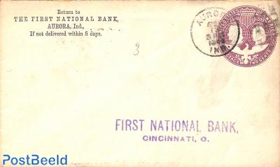 Envelope 2c, First Nat. Bank Aurora