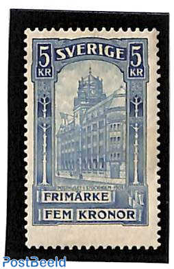 Stockholm post office 1v