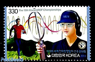 World ARDF championship 1v
