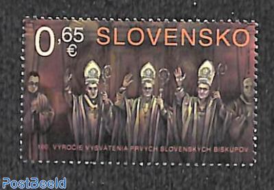 100 years Slovak bishops 1v