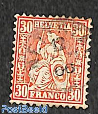 30c, used