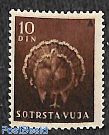 10D, Stamp out of set