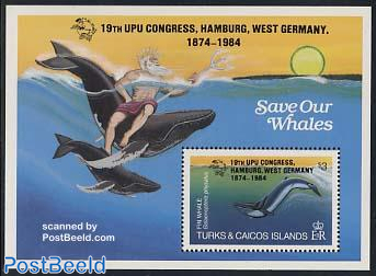 UPU congress, whales s/s