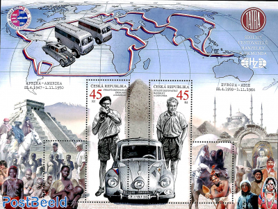 Travellers Hanzelka & Zikmund s/s