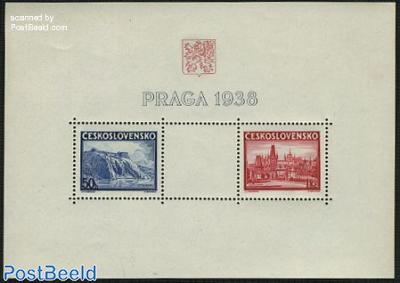 Praga stamp exposition s/s