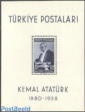 Death of Ataturk s/s