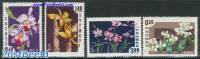 Orchids 4v