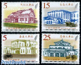 Historical railway stations 4v