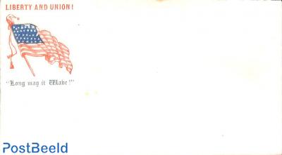 Civil war envelope, Liberty and Union