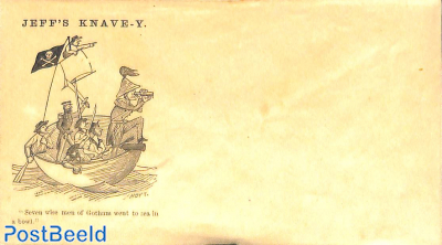 Civil war envelope, Jeff's Knave-Y