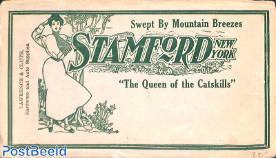 Advertising cover Stamford