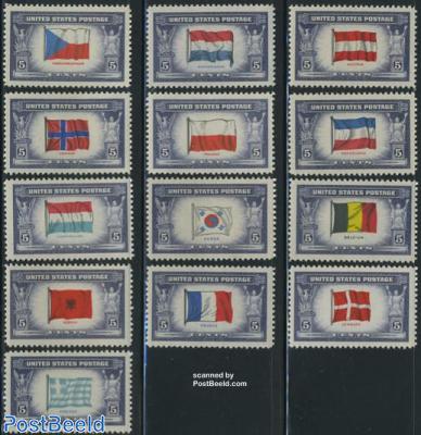 Occupied countries 13v