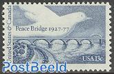 Peace bridge 1v, joint issue Canada