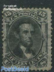 15c, Black, used