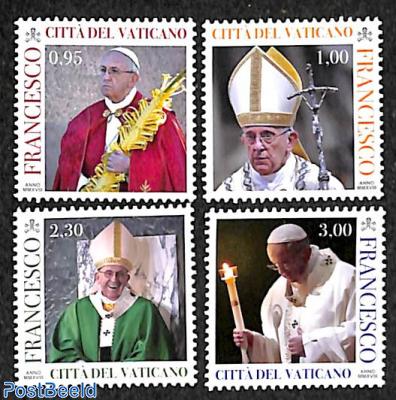 Pontification, pope Francis 4v