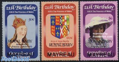 Royal baby 3v, Mayreau