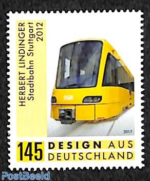 Herbert Lindinger, tramway Stuttgart 1v