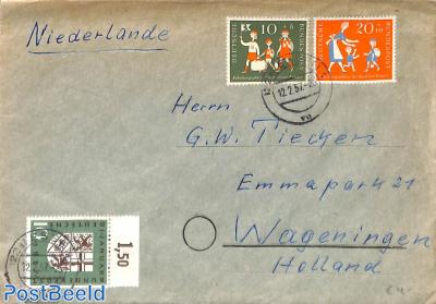 Letter to Wageningen