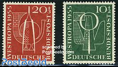 Westropa stamp exposition 2v