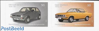 Classic Cars, Opel Manta, VW Golf 2v s-a