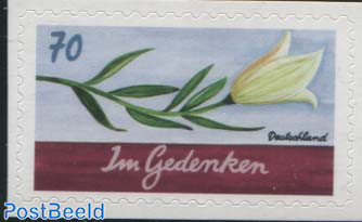 Mourning Stamp 1v s-a