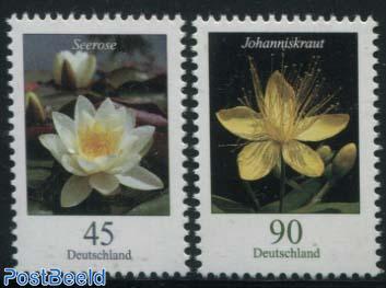 Definitives, Flowers 2v