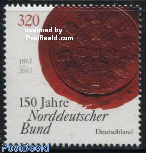 North-German Confederation 1v