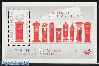 World postal day s/s
