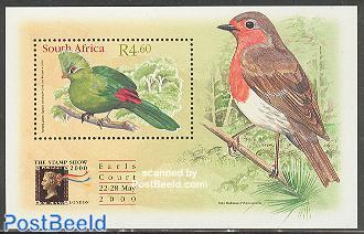 Stamp show, bird s/s