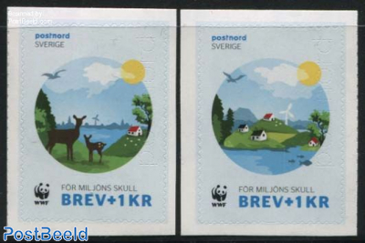 WWF, Joint Issue Denmark 2v s-a
