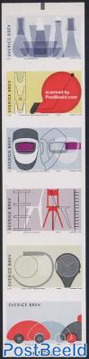 Swedish design 6v s-a in booklet
