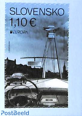 Europa 1v s-a from booklet