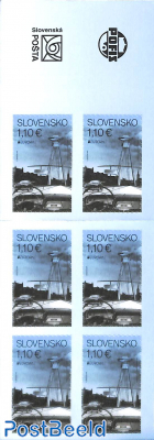 Europa, booklet s-a
