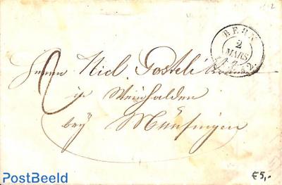 folding invoice from Bern