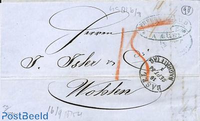 folding letter from Wohlen