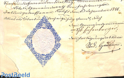 folding letter from Fahrwangen