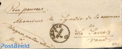 little envelope from Geneve