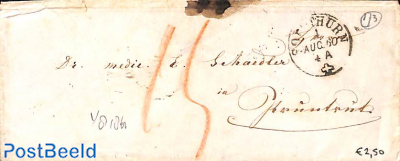 small envelope from Zürich