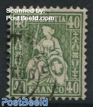 40c, Green, Stamp out of set