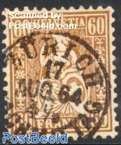 60c, Copper Bronze, Stamp out of set