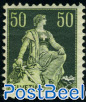 50c, Stamp out of set, normal paper