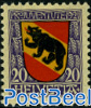 20+5c, Bern, Stamp out of set